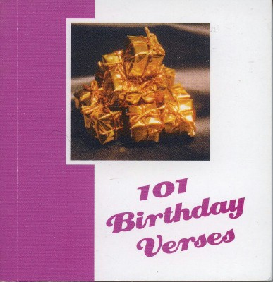 101 Birthday Verses 1st Edition
