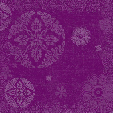 Apple-Grape Damask