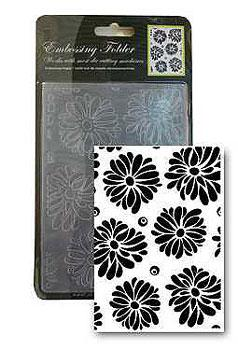 Embossing Folder Daisy