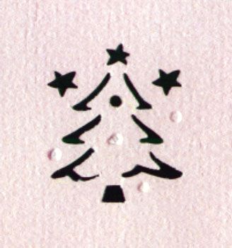 Embossing Punch - Christmas Tree