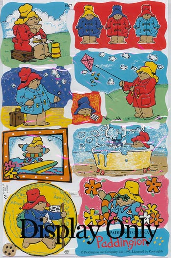 Embossed Pictures - Paddington