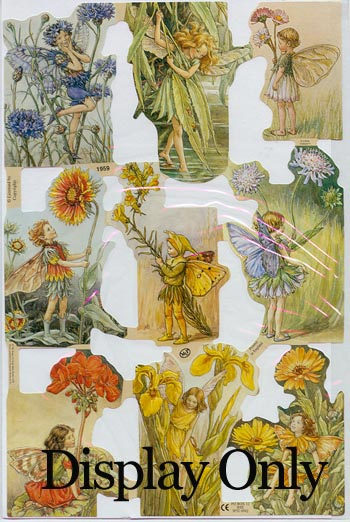 Embossed Pictures - Flower Fairies