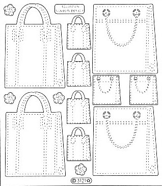 Transparent Maxi - Handbags
