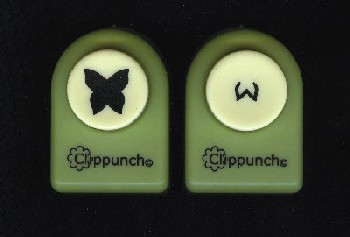 Clip Punch Butterfly