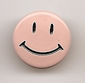 Pink Smiley Face
