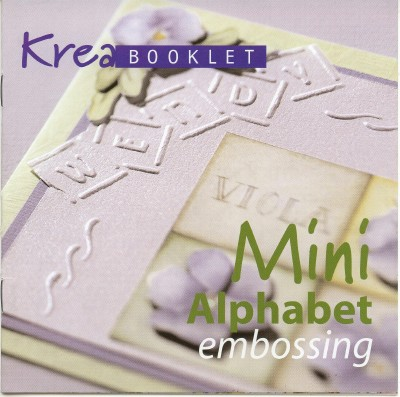 Mini Alphabet Embossing