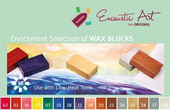 Encaustic Wax Enrichment Set