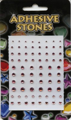 Adhesive Stones - Pink Soft