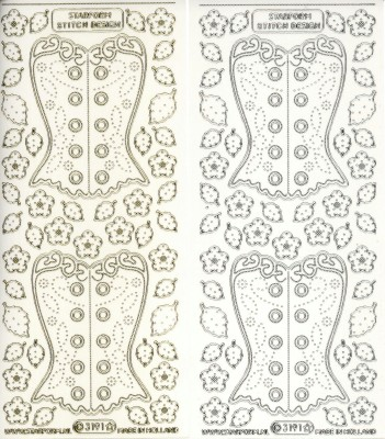 Embroidery Corsets