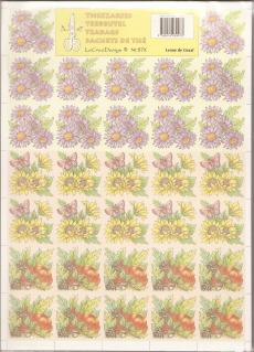 Autumn Flowers Kaleidoscope Folding Papers